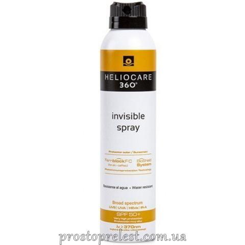 Cantabria Labs Heliocare 360º Invisible Spray SPF 50 - Сонцезахисний спрей Невидимка