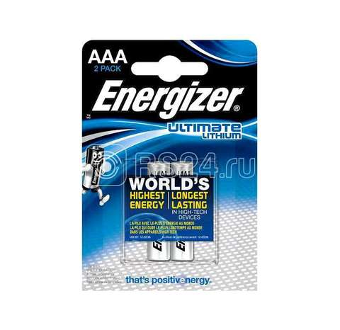 Э/п Energizer FR 03 Ultim Lithium BL2   24