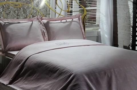 Комплект покрывало с постельным бельем Ricco Maison Dor розовое