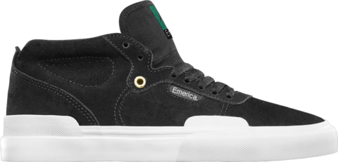 Кеды Emerica Pillar - black/white/gold
