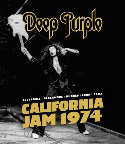 DEEP PURPLE: California Jam '74 (new cut of the concert and was fully restored in 2016 with the late