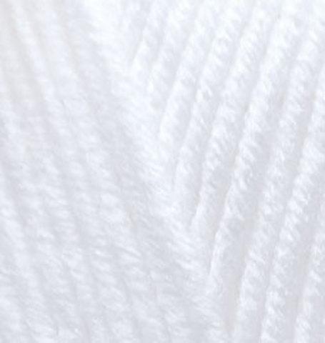 Пряжа Alize Lanagold Plus белый 55