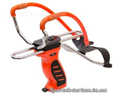 Рогатка Man Kung MK-SL06O оранжевая с упором
