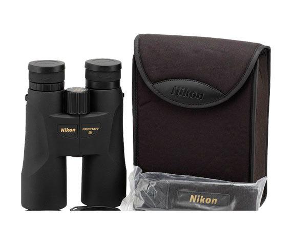 Комплект поставки биноклей Nikon Prostaff 5