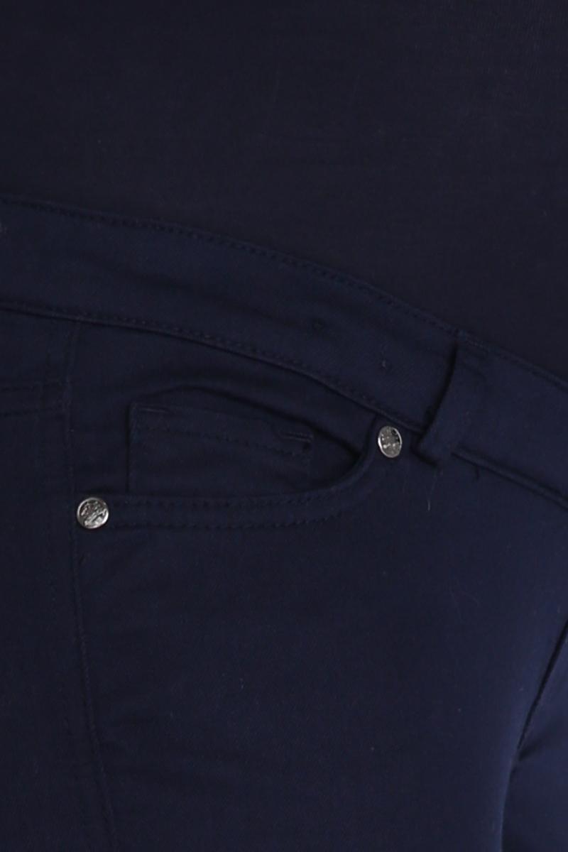 Брюки для беременных 02704 темно-синий