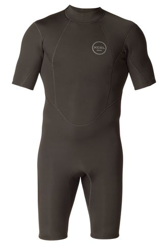 XCEL 2MM S/S AXIS Back ZIP SPpring Suit