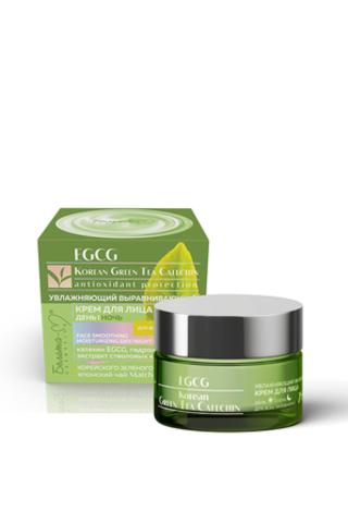 Белита М EGCG Korean GREEN TEA Крем для лица день-ночь увлажняющий для всех типов кожи 25+ 50г