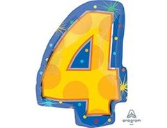 А Цифра 4  Мульти 15