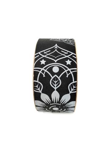 Йога колесо Mandala Black 32 см