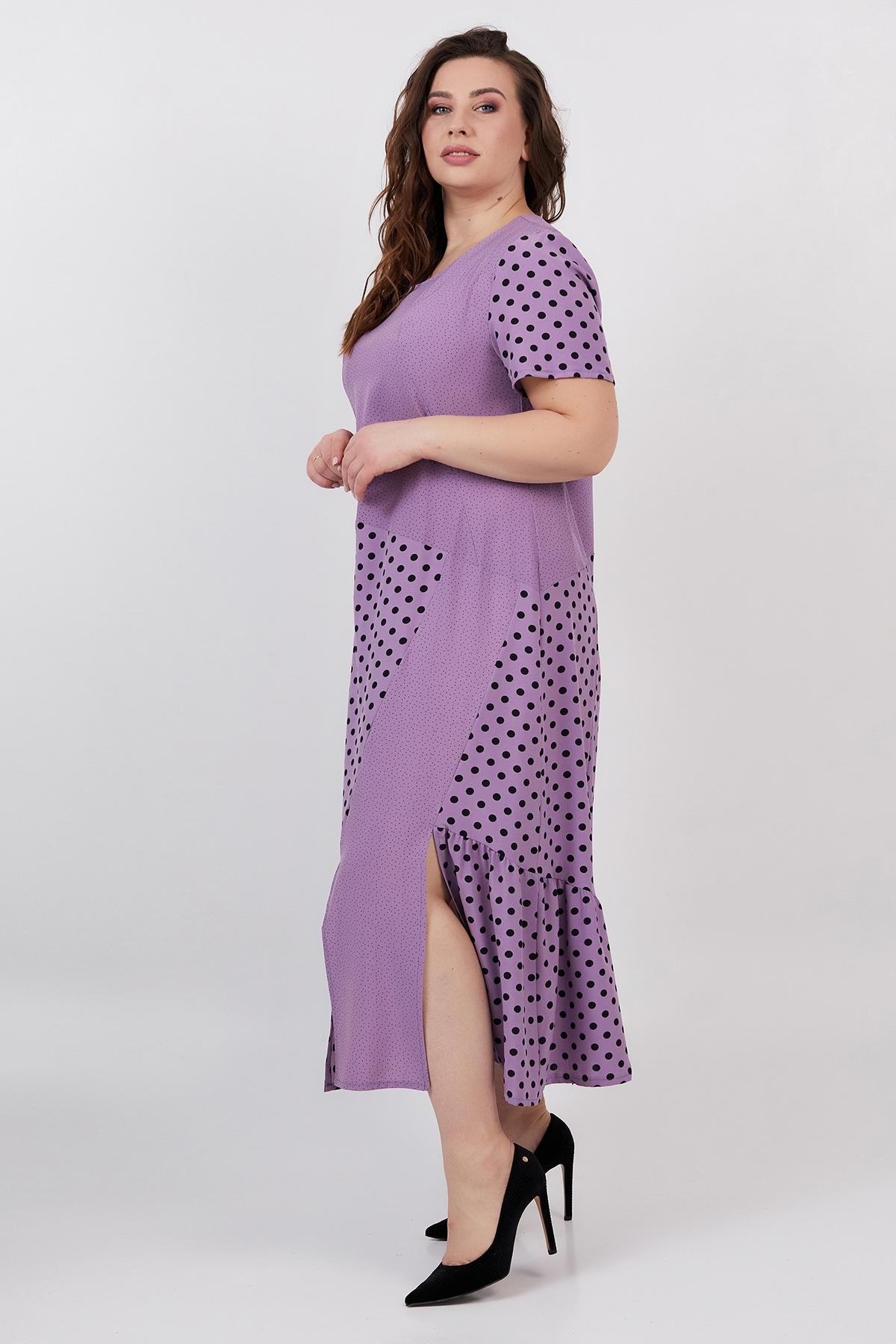 Платье Магдалина (сирень)