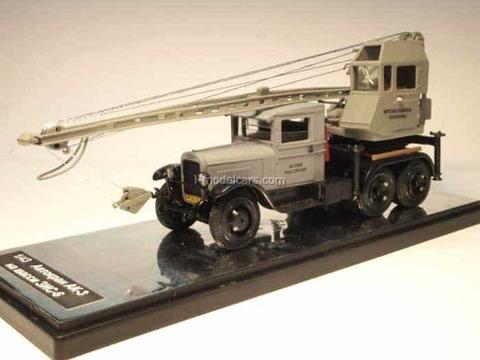 ZIS-6 truck crane AK-3 grey 1:43 Miniclassic