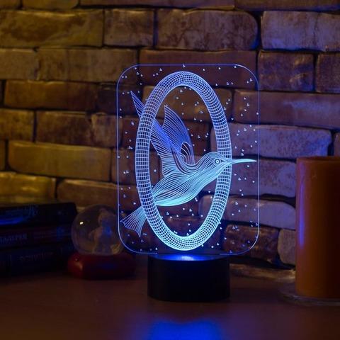 Лампа Колибри и кольцо