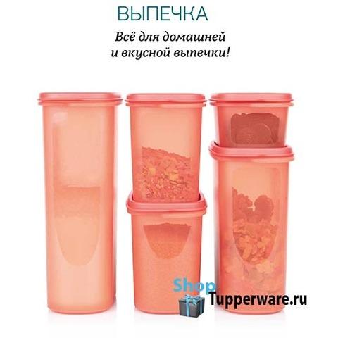 Набор компактусов Организатор (500мл /1,1л/ 1.7л / 2,3л) рис.2