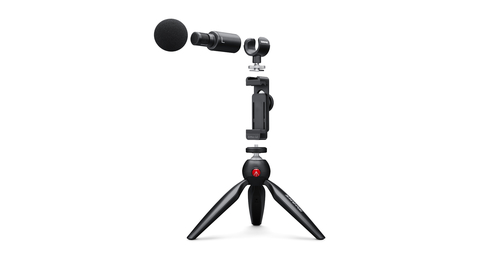 SHURE MV88+ Video Kit микрофон для блогера