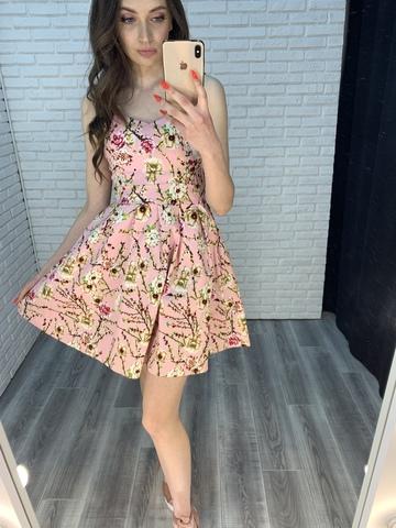 летний сарафан в цветочек интернет магазин