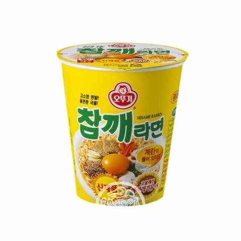 Лапша б/п OTTOGI  со вкусом говядины и кунжута 65г Корея