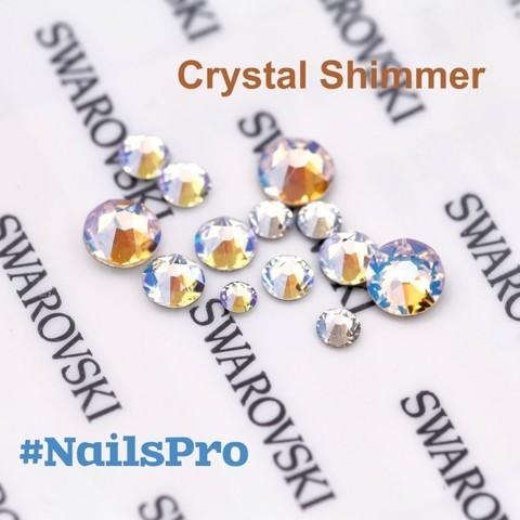 Стразы Сваровски Crystal Shimmer 30 шт