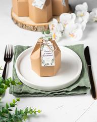 Набор свадебных бонбоньерок в коробочках