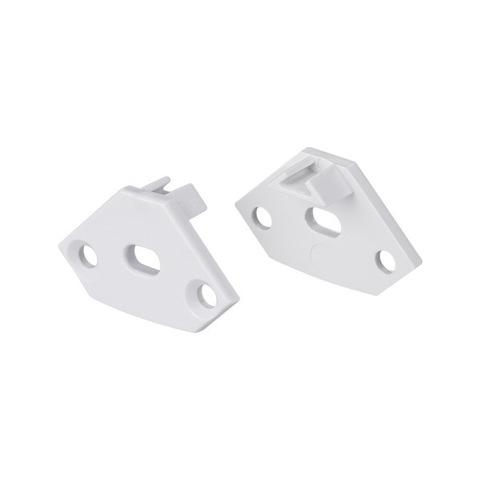 Заглушка ARH-DECORE-S12-EXT-F Flat с отверстием (ARL, Пластик)