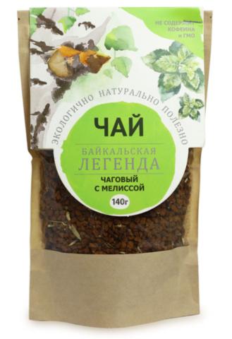Чаговый чай с мелиссой, гранулы 140 гр