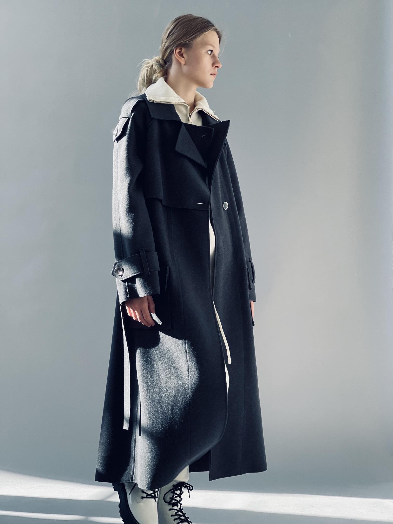Пальто, Ballerina, 693 (черный)
