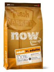 Беззерновой корм для взрослых собак, NOW FRESH, с индейкой, уткой и овощами