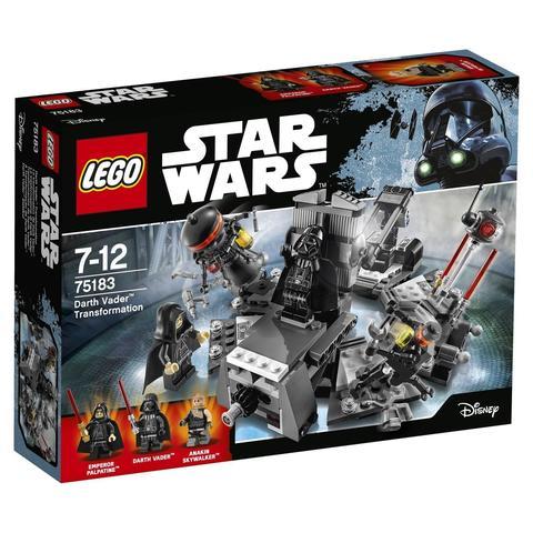 LEGO Star Wars: Превращение в Дарта Вейдера 75183 — Darth Vader Transformation — Лего Звездные войны Стар Ворз