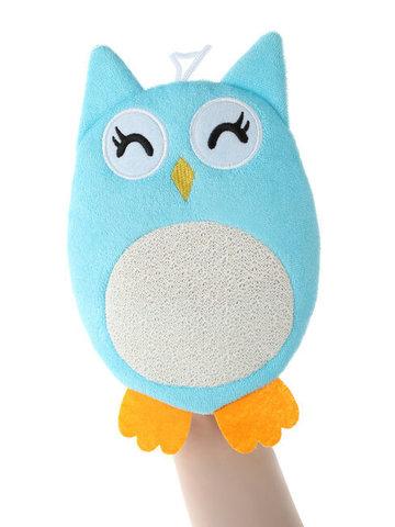 Махровая мочалка-рукавичка Baby Owl.