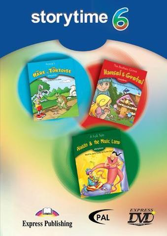 Storytime 6 DVD - сборник мультфильмов