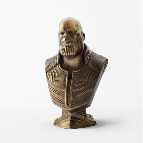 Бюст бронза Танос