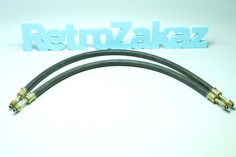 Комплект шлангов маслянного фильтра тонкой отчистки Газ 21 2, 3 серии