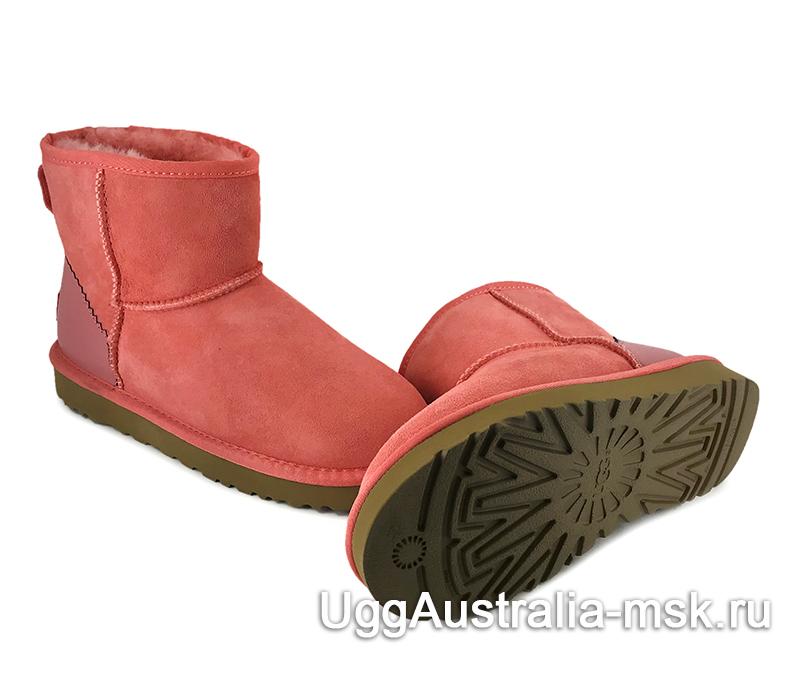 UGG Classic Mini II Metallic Coral