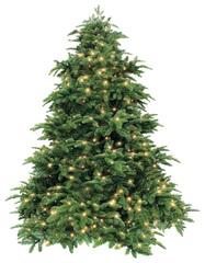 Triumph tree ель Нормандия зеленая (лампы) 1.55 м