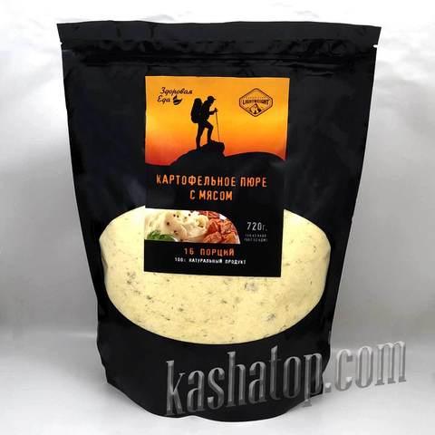 Картофельное пюре с мясом Здоровая еда', 720 г
