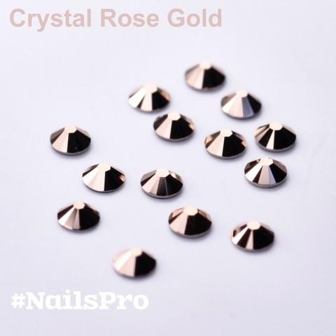 Стразы Сваровски SS7 Crystal Rose Gold F 24 шт
