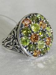 Колоретто (кольцо серебра)