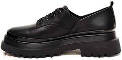 Массивные туфли женские кожаные Marani magli M-237-06-18 Black.