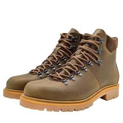 680478 ботинки мужские оливковые больших размеров марки Делфино