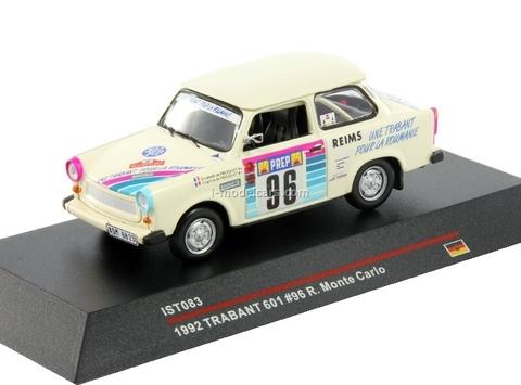 Trabant 601 №96 Rally Monte Carlo E.Fresquet-V.Fresquet 1992 IST083 IST Models 1:43