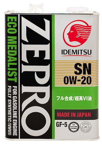 IDEMITSU ZEPRO ECO MEDALIST  0W20 SN/GF-5