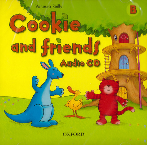 Cookie and Friends B Audio CD