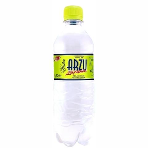 Вода ARZU LIFE FITNESS Лимон 0,52 л пл/б Riks КАЗАХСТАН