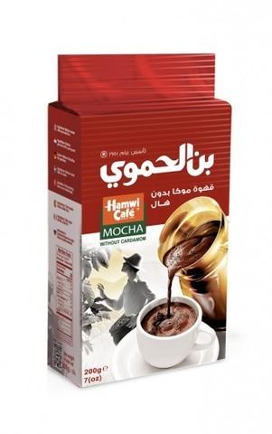 Арабский кофе Мокка без кардамона, Hamwi Cafe, 200 г