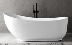 Акриловая ванна ABBER AB9288 180х89 см отдельностоящая