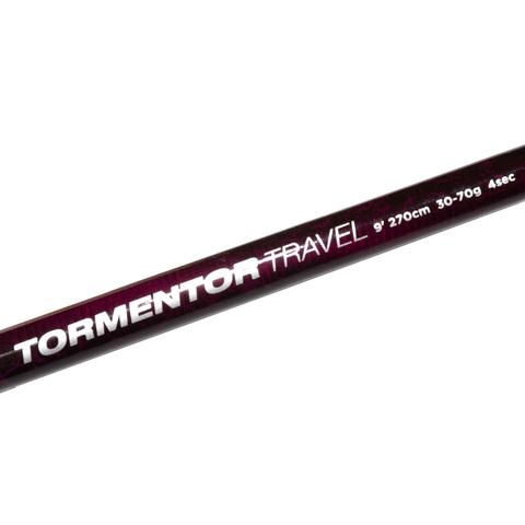 Удилище спиннинговое тревел 4х коленное Abu Garcia Tormentor Travel Spin 9ft (274 см., 30-70 г.) (1520993)