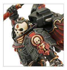 Blood Angels Chaplain With Jump Pack. Детали