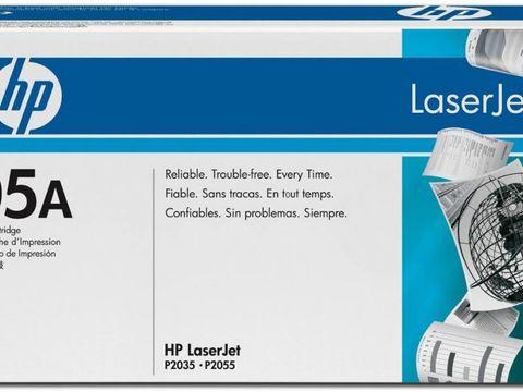 Картридж HP CE505A для Hewlett Packard LJ P2035/ P2055. Ресурс 2300 копий.