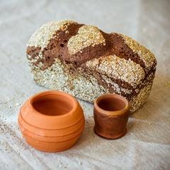 Хлеб ржаной «Деревенский» на закваске / 330-350 гр