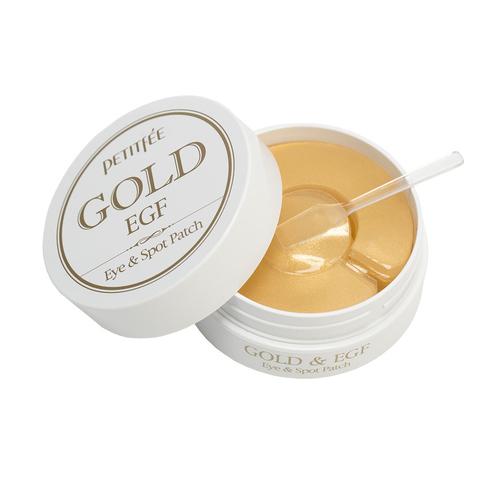 Гидрогелевые патчи для глаз ЗОЛОТО/EGF PETITFEE Gold & EGF Eye&Spot Patch, 90 шт