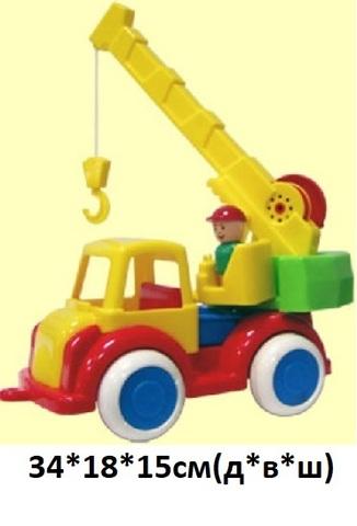 Автокран (Детский сад) (Форма) С-80-Ф